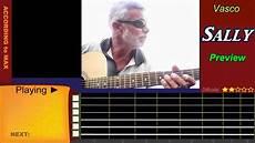 accordi vasco sally vasco accordi chitarra tutorial with tabs