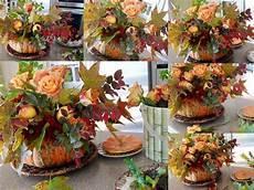 Herbstdeko Aus Naturmaterialien - blumengestecke mit naturmaterialien selber basteln