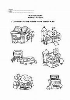 places in my city worksheets 15968 places in my city esl worksheet by patryren