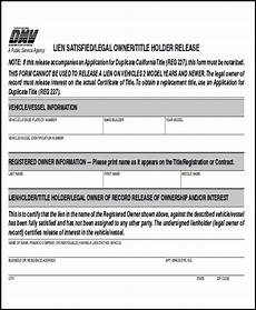 free 10 sle dmv release forms in ms word pdf