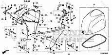 honda parts diagram honda outboard parts by hp serial range 90hp oem parts diagram for engine cover cover