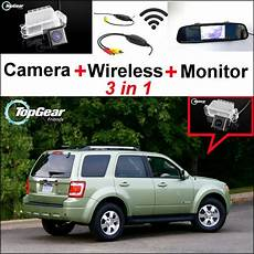 how make cars 2006 ford escape parking system 3 in1 special rear view camera wireless receiver mirror monitor diy parking system for ford
