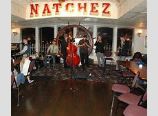 Jazz band aboard the Steamboat Natchez.   Picture of