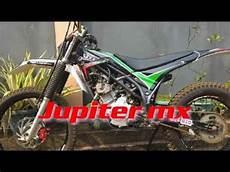 Jupiter Mx Modif Trail by Yamaha Jupiter Mx Modif Trial Modifikasi Trail