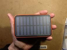100 000mah solar powerbank capacity test and opening