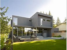 SD House   Modern   Exterior   Edmonton   by thirdstone