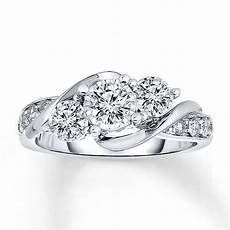 radiant reflections diamond ring 1 ct tw 14k white gold 991592205 kay