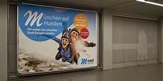 M Net München - referenz m net wirbt mit m 252 nchen auf 100 agentur