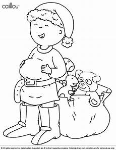 caillou free printable for coloring library