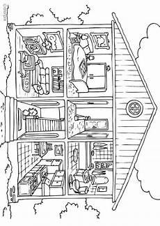 Malvorlagen Erwachsene Haus Malvorlage Haus Innen Ausmalbild 25995