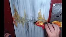 peinture tableau moderne peinture abstraite d 233 butants acrylique facile