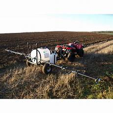 boom sprayer 250l trailed boom sprayer electric driven 12 volts the mowers toppers company