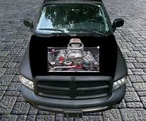 Poweful Blown Engine AWESOME Vinyl Graphic Decal Hood Wrap