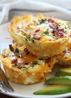 recette brunch salé hash brown egg nests breakfast brunch