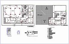 electrical installation floor plan with electrical legend