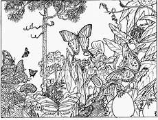 Malvorlagen Tiere Und Natur Coloring Pages For Adults Nature Coloring Home