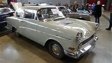 Opel Rekord P1 - 1959 opel rekord p1 exterior and interior retro