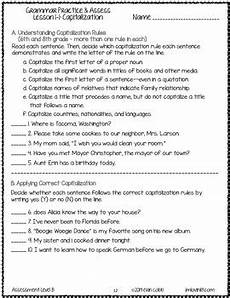 grammar worksheets with answers 25044 grammar worksheets and tests 6th grade no prep printables by lovin lit