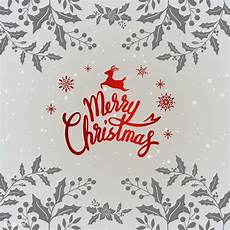 merry christmas typography design vector free image by rawpixel com