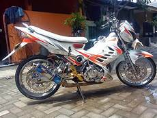Modifikasi Fu by Modifikasi Satria Fu Fighter 2014 Modifikasi