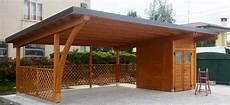 costo tettoia in legno modelli box auto in legno