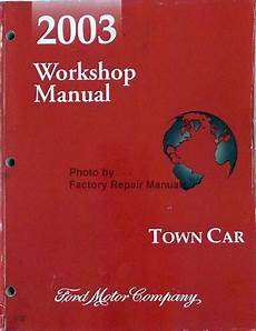 automotive service manuals 2003 lincoln town car electronic valve timing 2003 lincoln town car factory service manual original shop repair factory repair manuals