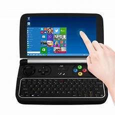 pc console gpd win 2 handheld pc console windows tablet black