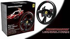 thrustmaster t500rs 458 challenge edition gte