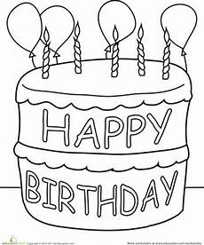 birthday cake printable worksheets 20255 84 best images about cake coloring pages on