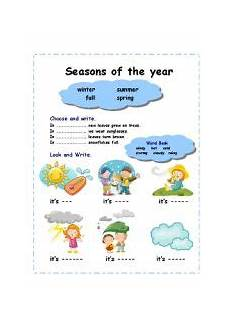 worksheets on seasons for grade 2 14834 seasons of the year 2 pages esl worksheet by azza 20
