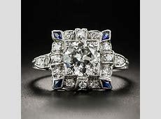 Art Deco 1.30 Carat Diamond Engagement Ring