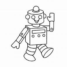 Ausmalbilder Coole Roboter Dibujo De Robot Para Colorear Colorear En