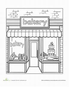 places coloring pages 18026 bakery coloring page coloring pages house colouring pages free coloring pages