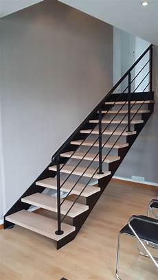 escalier bois design nos verri 232 res escalier design 14 escalier limon fer
