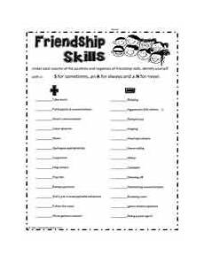 friendship skills printable friendship lessons friendship activities social emotional learning