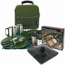 deluxe cutlery carp fishing multi section cooking