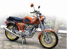 Cb Classic Modif by Honda Cb 100 71 Malang Setia Jalur