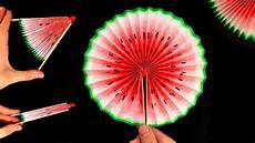 basteln mit papier wassermelonen f 228 cher selber machen