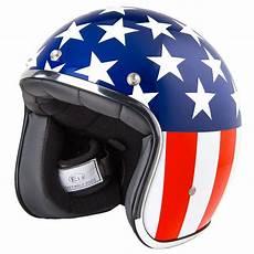 Stormer Pearl Us Easy Rider Casque Moto Drapeau Usa Biker