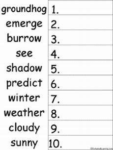 weather abc order worksheets 14643 groundhog day crafts worksheets and printable books enchantedlearning