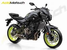 Nouveau Look Pour La Yamaha Mt 07 2018 Route