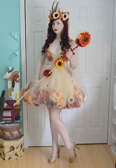 making a fall flower fairy part three historical