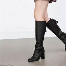 Zara 3cm Black zara boots collection for fall winter 2015 fab fashion fix