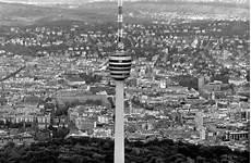 Zeit Zu Zeit Stuttgarter Wahrzeichen Happy Birthday