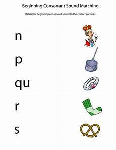 beginning consonant sounds worksheets