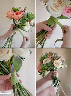 how to make a bouquet of flowers in few simple steps