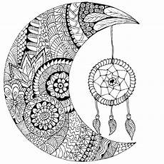 moon dreamcatcher drawing at getdrawings free