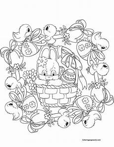 easter mandala coloring page free coloring pages