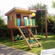 Kinderspielplatz Selber Bauen - kinderspielhaus im garten bauanleitung zum selber bauen