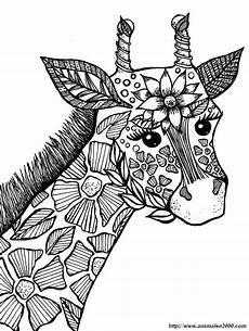 Malvorlagen Gratis Mandala Tiere Ausmalbild Giraffe Zum Ausmalen Ausmalbilder